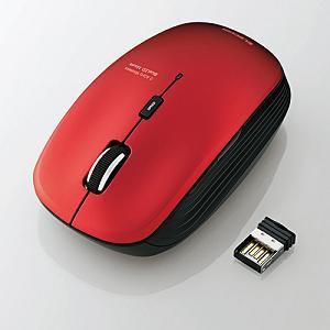 エレコム 5ボタンワイヤレスBlueLEDマウス M-BL21DBRD