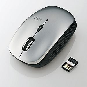 エレコム 5ボタンワイヤレスBlueLEDマウス M-BL21DBSV