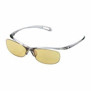 エレコム OG-YBLP01GY  ブルーライト対策眼鏡「PC GLASSES」(65%カット)