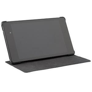 i-BUFFALO Nexus 7(2013年発表モデル)専用レザーケース 液晶保護フィルム付 BSTPNX13LBK