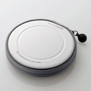 エレコム CD/DVDケース CCD-H12WH