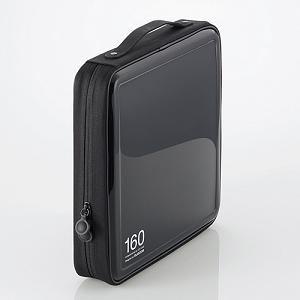 エレコム CD/DVDケース CCD-H160BK