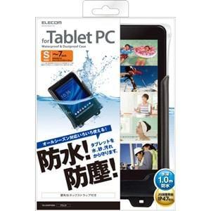エレコム タブレット用防水・防塵ケース(ブラック) Sサイズ TB-03WPSBK