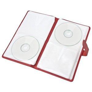 ナカバヤシ Digio2 CD-086-48BK Blu-Ray/DVD/CD ディスクケースケース 48枚収納 ブラック