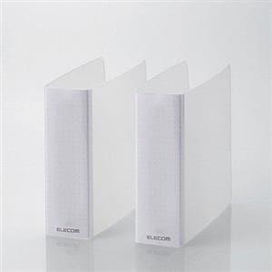 エレコム DVD・CD不織布ケース専用ファイル(2冊入り) クリア CCD-B01WCR
