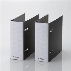 エレコム DVD・CD不織布ケース専用ファイル(2冊入り) ブラック CCD-B02WBK