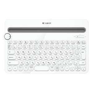 ロジクール マルチデバイス対応Bluetoothキーボード (ホワイト) K480WH