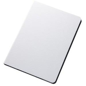 レイ・アウト iPad Air 2 カラフル・スリムレザージャケット(合皮)/ホワイト RT-PA6CLC2/W