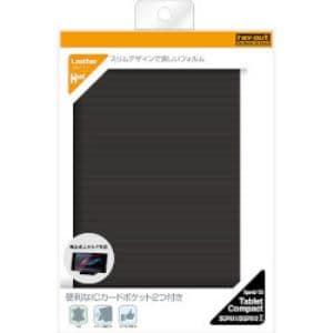 レイ・アウト Xperia Z3 Tablet Compact スリムレザー(合皮)/ブラック RT-Z3TCSLC1/B