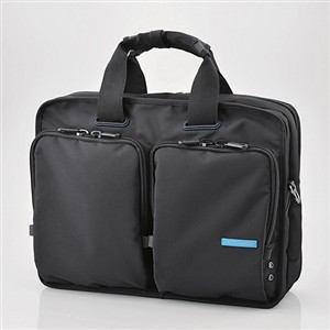 エレコム 営業用ビジネスバッグ ブラック BM-BG02BK