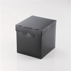 エレコム 組立式メディアケース収納ボックス ブラック CCD-MB01BK