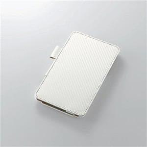 エレコム EveryPadPro用ソフトレザーカバー(4アングル) ホワイト TB-DLEVWPLF2WH