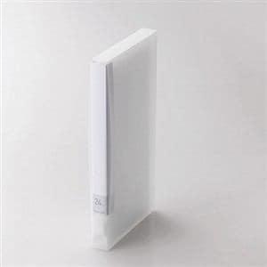 エレコム DVD/CD用ディスクファイル 24枚収納 クリア CCD-FS24CR