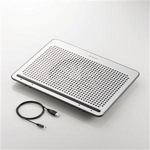 エレコム ノートPC用クーラー(角度調節・強冷タイプ) 15.4?17インチ対応 SX-CL22LSV