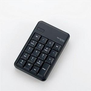 エレコム Bluetooth ワイヤレステンキーパッド ブラック TK-TBM016BK