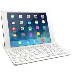 マグレックス MK8100UV-WH iPad mini用 バックライト付きBluetoothキーボードケース ホワイト