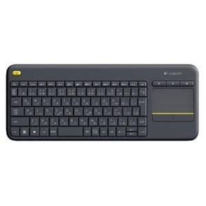 ロジクール ワイヤレス タッチキーボード ブラック K400pBK