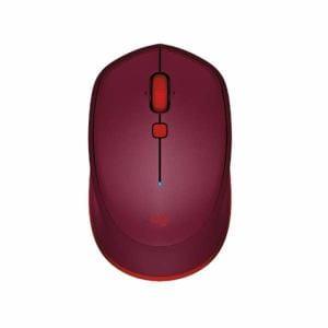 ロジクール Bluetoothワイヤレスレーザーマウス (6ボタン・レッド) M337RD