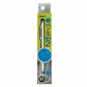 ナカバヤシ ライトツインタッチペン シルバー ECTP-11SL