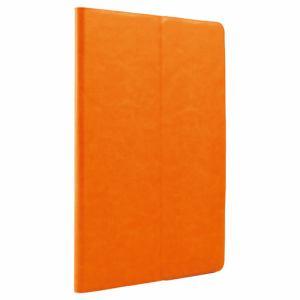 バッファロー iPad mini 4専用レザーケース マルチアングルスタンドモデル オレンジ BSIPD715LMOR