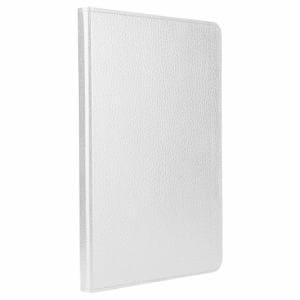 バッファロー iPad mini 4専用レザーケース 回転スタンド付きモデル ホワイト BSIPD715LRWH