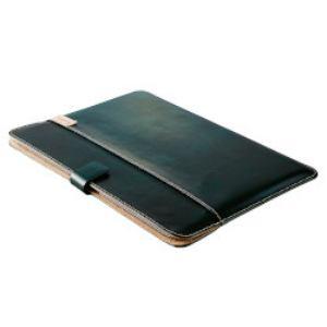 トリニティ MacBook 12インチ用 エコレザーブックスリーブ グリーン TR-BSMB12E-GR