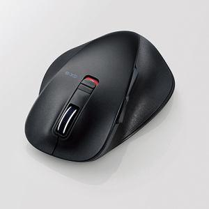 エレコム EX-G Bluetooth BlueLEDマウス Lサイズ ブラック M-XGL10BBBK