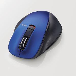 エレコム EX-G Bluetooth BLueLEDマウス(M) ブルー M-XGM10BBBU