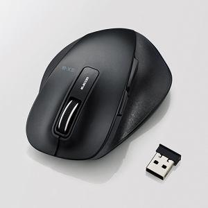 エレコム EX-G ワイヤレスBlueLEDマウス Mサイズ ブラック M-XGM10DBBK