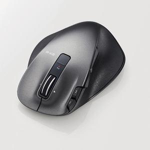 エレコム EX-GUltimateLaserマウスLサイズ ブラック M-XGL20DLBK