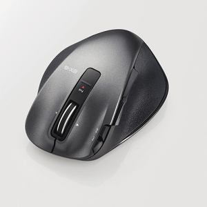 エレコム EX-G Ultimate Laserマウス Sサイズ ブラック M-XGS20DLBK