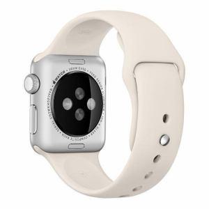 アップル(Apple) MLKU2FE/A Apple Watch 38mm ケース用 アンティークホワイトスポーツバンド
