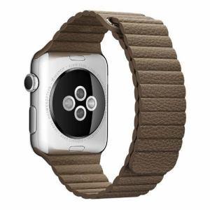 アップル(Apple) MJ522FE/A Apple Watch 42mm ケース用 ライトブラウンレザーループ - M