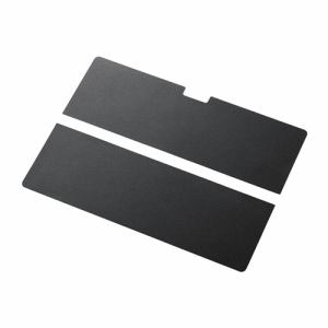 エレコム Surface Pro 4用背面ステッカー ブラック TB-MSP4WRPBK