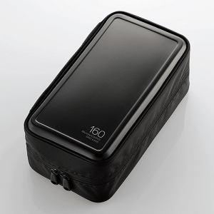 エレコム Blu-ray・CD・DVD対応ファスナーケース(160枚) ブラック CCD-HB160BK