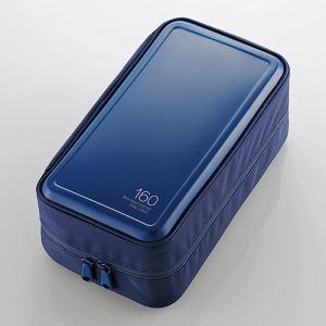 エレコム Blu-ray・CD・DVD対応ファスナーケース(160枚) ブルー CCD-HB160BU