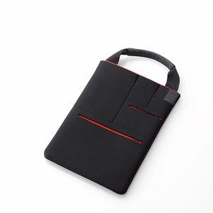 エレコム マルチポケット付きタブレット用インナーバッグ「CELL」 ブラック TB-08CELLBK