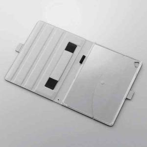 エレコム IPAD2016 9.7インチiPad Pro用ソフトレザーカバー(360度回転) ブラック TBA16360BK