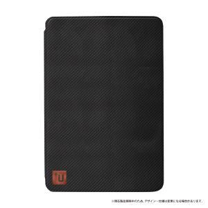 MSソリューションズ iPad Pro 9.7inch +U Fabio Slim Fabric フラップケース カーボン柄 LP-IPA3LFFCB