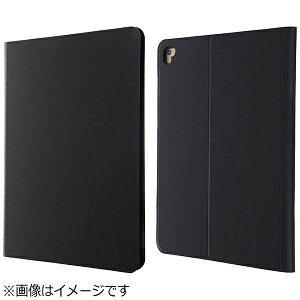 レイアウト 9.7インチiPad Pro用 手帳型ケース スリム ブラック RT-PA7SLC1/B[RTPA7SLC1B]