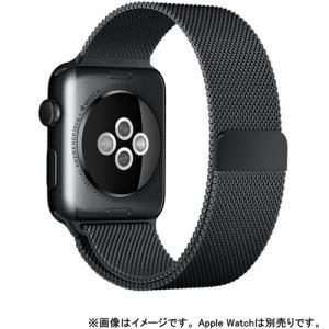 アップル(Apple) MLJH2FE/A Apple Watch 42mmケース用 スペースブラック ミラネーゼループ