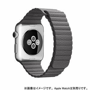 アップル apple mmaw2fe a apple watch 42mm ケース用 ストームグレイ