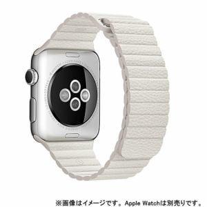 アップル(Apple) MMAX2FE/A Apple Watch 42mm ケース用 ホワイトレザーループ - L