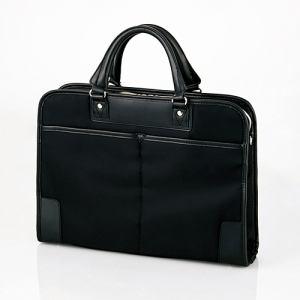 エレコム BM-OR03BK ビジネスバッグ 「ORGULLO(オルガロ)」 ブラック