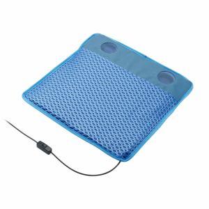 グリーンハウス GH-COOLSA-BL USBシートクーラー メッシュブルー