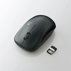 エレコム M-IR07DRBK 無線IRマウス(3ボタン) ブラック