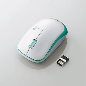 エレコム M-IR07DRGN 無線IRマウス(3ボタン) グリーン