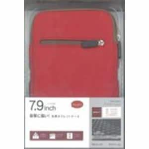 ラスタバナナ RBCA140 タブレット用 Anti-shock 汎用タブレットケース 7.9インチ レッド