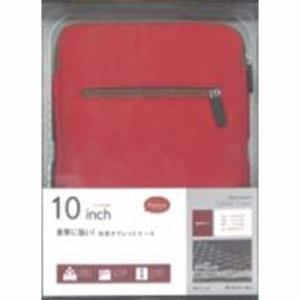 ラスタバナナ RBCA143 タブレット用 Anti-shock 汎用タブレットケース 10インチ レッド