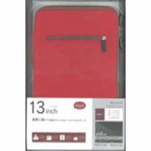 ラスタバナナ RBCA146 タブレット用 Anti-shock 汎用タブレットケース 13インチ レッド